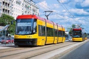 kierujący tramwajem