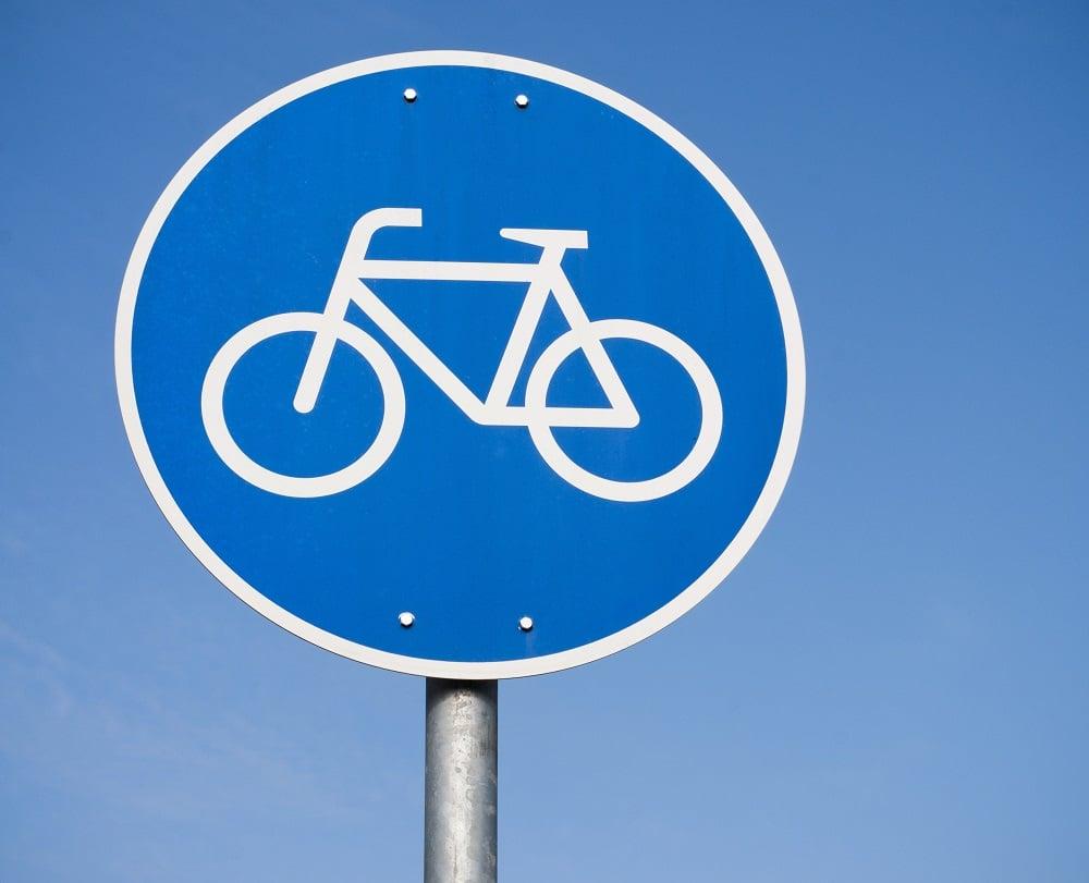 Znaki ścieżki rowerowe